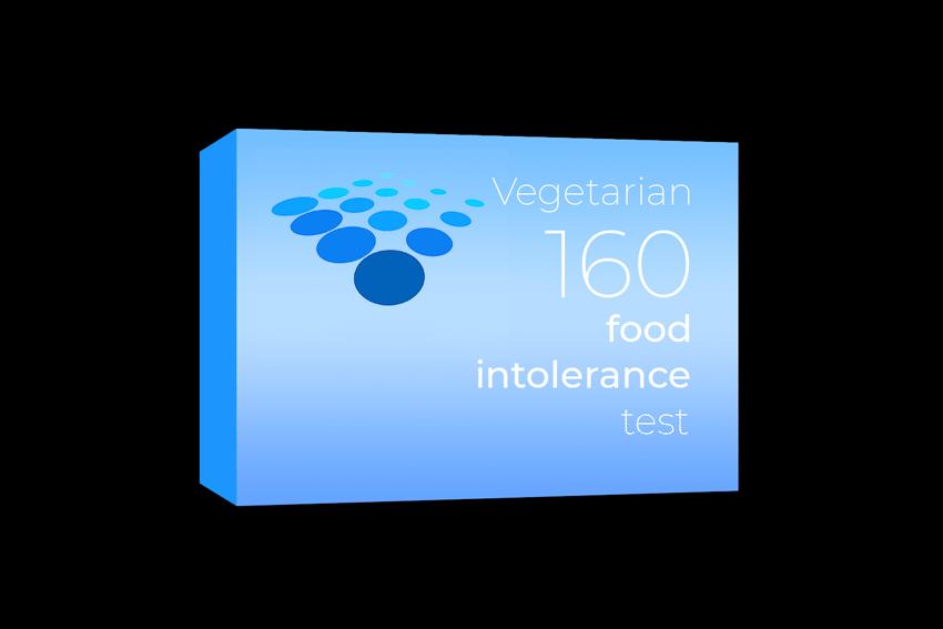 Vegetarian 160 Food Intolerance Test