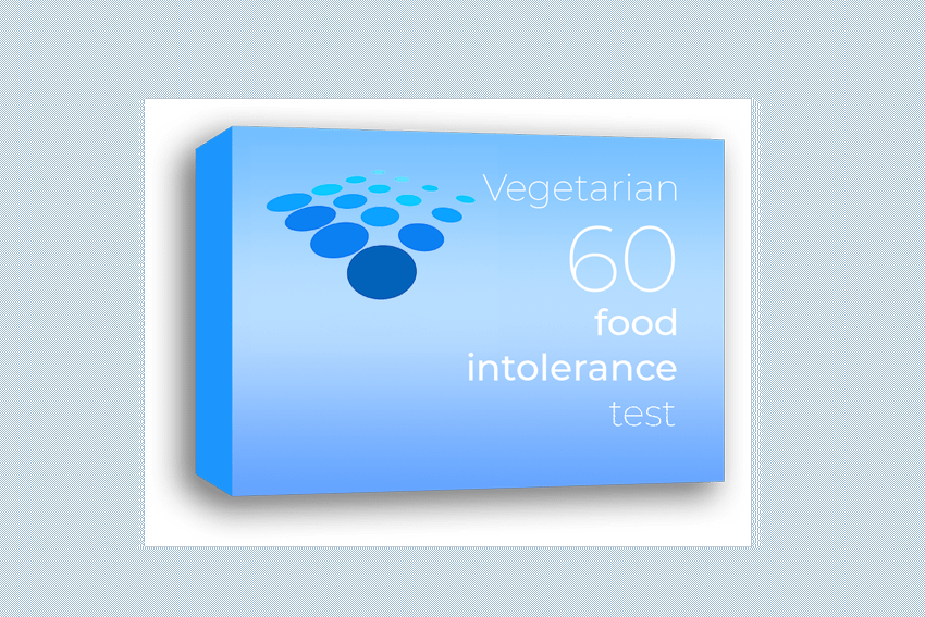 Vegetarian 60 food intolerance test